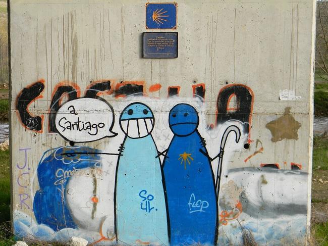 A Santiago, passo dopo passo.