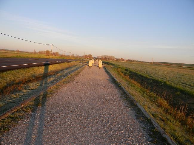All'alba si è già in cammino, altrimenti a Santiago non ci arrivi.