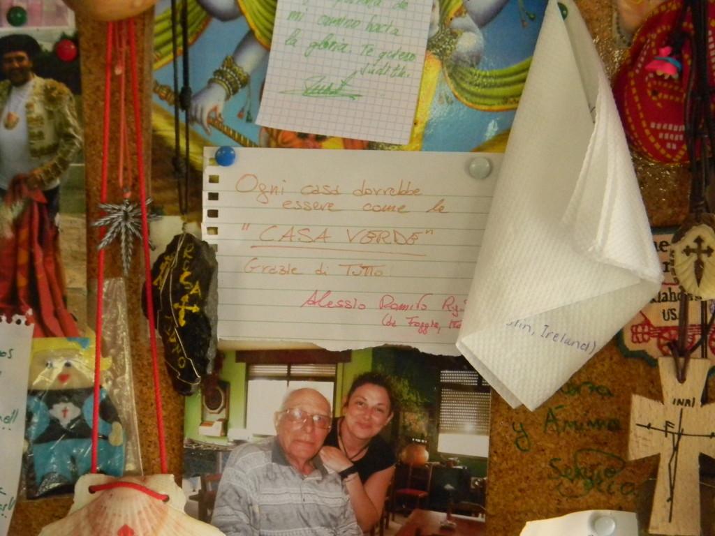 Ogni casa dovrebbe essere come LA CASA VERDE. Grazie di tutto, Alessio Romito RyS.